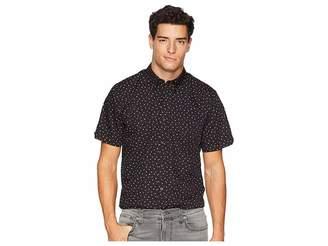 Ben Sherman Short Sleeve Shadow Spot Print Shirt