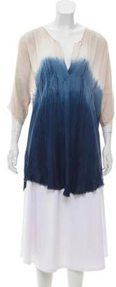 Raquel Allegra Tie-Dye Short Sleeve Top w/ Tags
