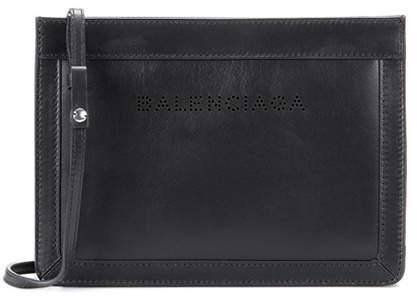 Balenciaga Navy Small leather shoulder bag