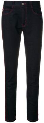 Stella McCartney cropped turn up hem jeans