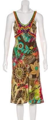 Etro Silk Embellished Dress w/ Tags
