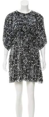 Chanel Camellia Printed Dress