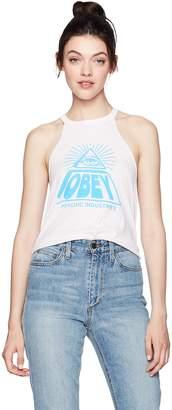 Obey Women's Psychic Industries Swing Tank
