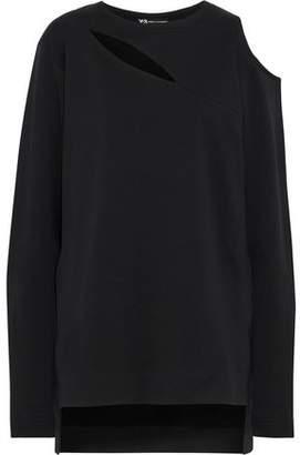 Y-3 + Adidas Cocoon Cutout Cotton Sweatshirt