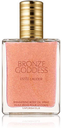 Estee Lauder Bronze Goddess Shimmering Body Oil Spray, 1.5 oz. $42 thestylecure.com