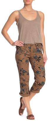 Democracy Floral Convertible Utility Cropped Capris