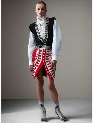 Burberry Wool Ceremonial Skirt