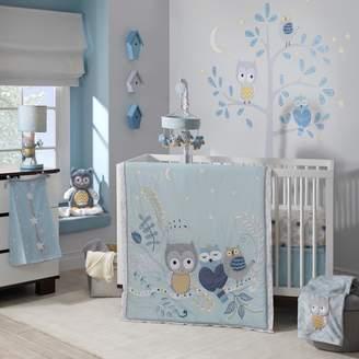 Lambs & Ivy Happi by Dena Night Owl 4-pc. Crib Bedding Set