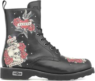 Cult Zeppelin Mid 2712 Army Boots