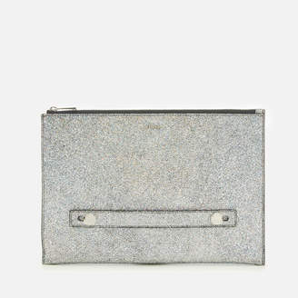Furla Women's Arcobalove Xl Envelope Bag - Silver