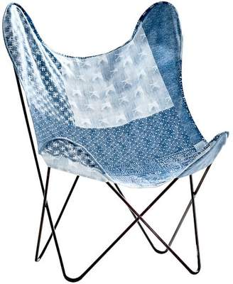 Pottery Barn Teen Lily Ashwell Print Butterfly Chair Sling