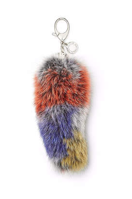 Rebecca Minkoff Fox-Tail Bag Charm