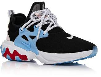Nike Women's React Presto Lace-Up Athletic Sneakers - 100% Exclusive