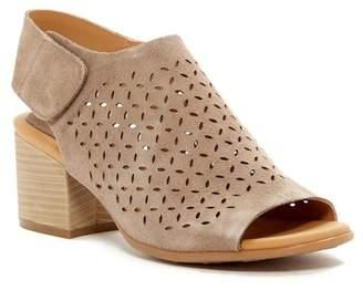 KORKS Cayleigh Perforated Block Heel Sandal