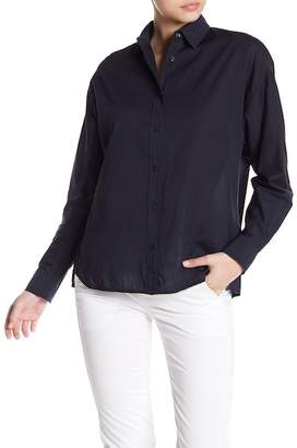 Vince Easy Shirt Tail Front Shirt