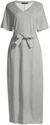 Max Mara Mana Tie-Front T-Shirt Dress