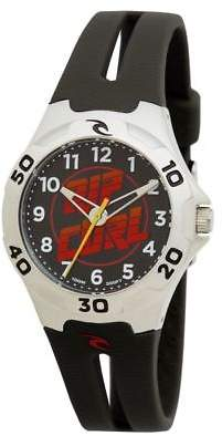 Rip Curl New Boys Kids Brasher Watch Stainless Steel Japanese Quartz Black