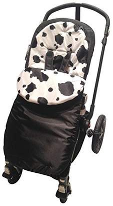 Silver Cross Animal Print Padded Footmuff / Cosy Toes Compatible with Cow