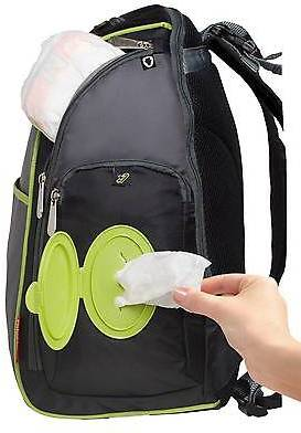 fisher price urban backpack diaper bag black lime grey shopstyle kids. Black Bedroom Furniture Sets. Home Design Ideas