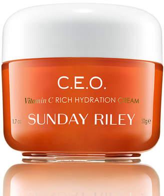 Sunday Riley Modern Skincare C.E.O. C + E antiOXIDANT Protect + Repair Moisturizer, 1.7 oz./ 50 mL