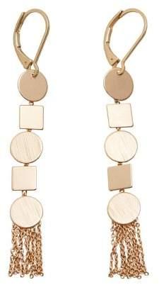 Violeta BY MANGO Geometric earrings