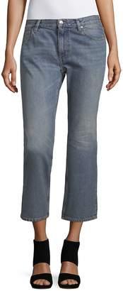 Iro . Jeans IRO Jeans Women's Cotton Crop Flare Jeans - Denim Blue, Size 26 (2-4)