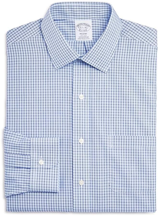 Double Windowpane Regular Fit Dress Shirt