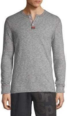 Superdry Classic Long-Sleeve Cotton Top