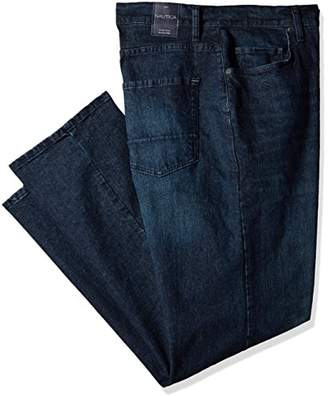 Nautica Men's Big and Tall 5 Pocket Relaxed Fit Stretch Jean