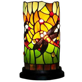 Tiffany & Co. AMORA Amora Lighting AM1015ACC Dragonfly Style Mini Table Lamp