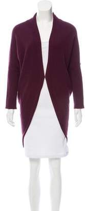 Lanvin Shawl Collar Long Sleeve Cardigan
