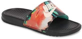 Nike 'Benassi - Just Do It' Print Sandal