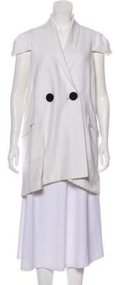 Roland Mouret Short Sleeve Casual Jacket