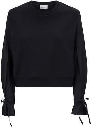 3.1 Phillip Lim Cotton Bow Sweatshirt