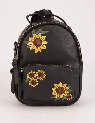 Violet Ray Sunflower Trinity Mini Backpack