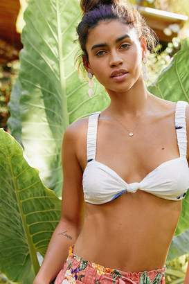 Out From Under Lucky Knot Tie-Front Bra Top
