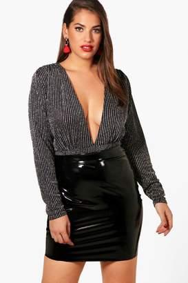 78005ba395ee7 boohoo Silver Plus Size Clothing - ShopStyle UK