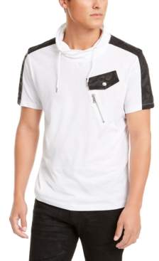 INC International Concepts I.n.c. Men's Cowl Neck T-Shirt, Created for Macy's