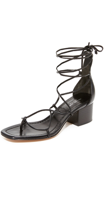 Michael Kors Collection Ayers Wrap City Sandals $350 thestylecure.com