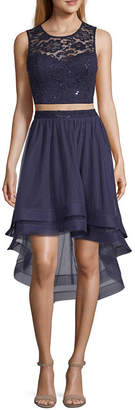 BY AND BY by&by Sleeveless Party Dress-Juniors