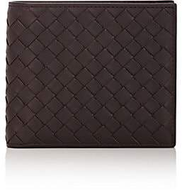 Bottega Veneta Men's Intrecciato Billfold - Dk. brown