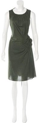 Vera Wang Sleeveless Gathered Dress $95 thestylecure.com