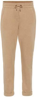 Brunello Cucinelli Stretch-cotton jersey trackpants