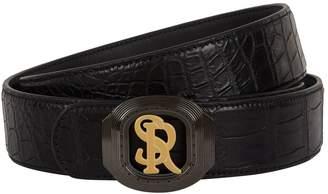 Stefano Ricci Logo Buckle Belt