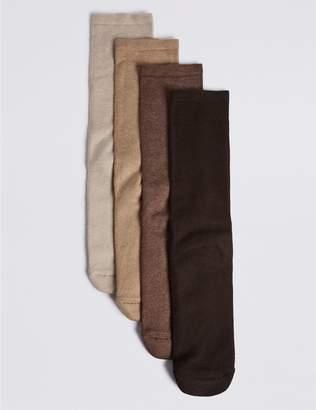 Marks and Spencer 4 Pack Cotton Blend Freshfeet Socks