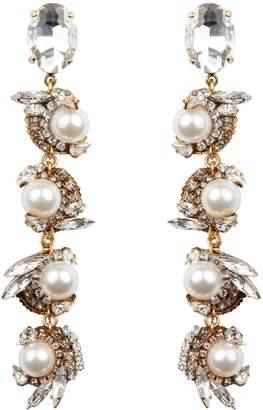 Erickson Beamon Delicate Balance Drop Earrings