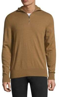 Burberry Rawlins Half Zip Sweater