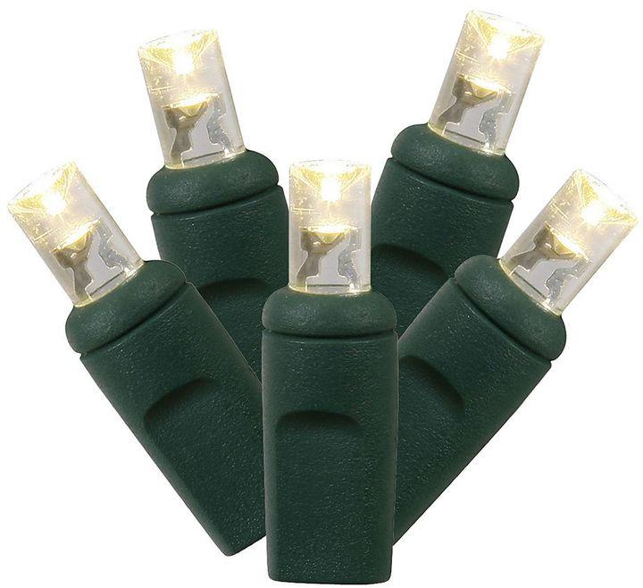 Vickerman 100 Light Wide Angle Warm White LED Christmas Lights