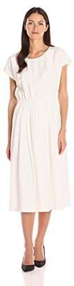 Moon River Women's Solid Woven Dress