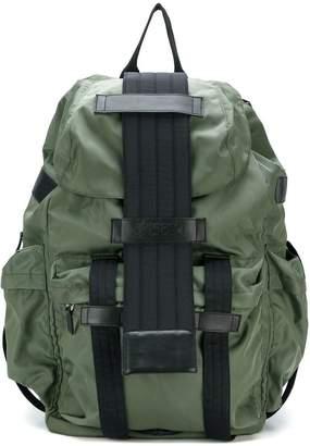 Kokon To Zai multi-pocket backpack